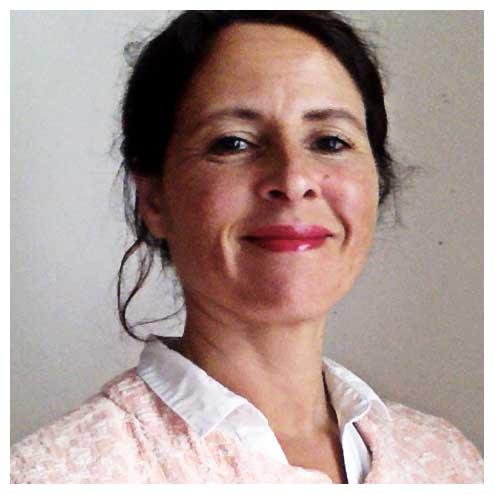 Christiane Capps, Sprecherin des Nachbarschaftshauses Wohnkollektivs kleinefreiheit, Hamburg-St. Pauli